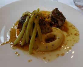 Meal at La Trompette
