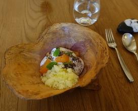 Meal at Texture