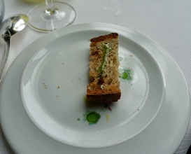 Meal at Guy Savoy