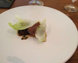 Meal at Restaurant Sat Bains