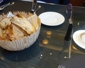 Meal at La Dame de Pic