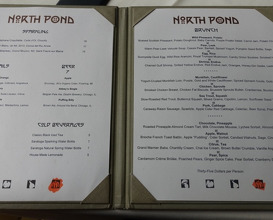 Meal at North Pond