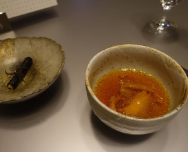 Meal at Alinea