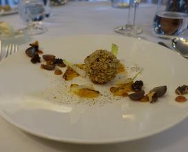 Meal at Gravetye Manor
