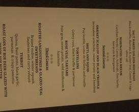 Meal at Restaurant Martin Wishart