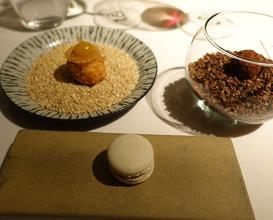 Meal at Martin Wishart