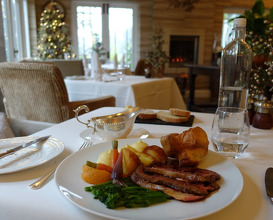 Meal at Gilpin Hotel & Lakehouse