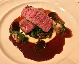 Meal at Hambleton Hall