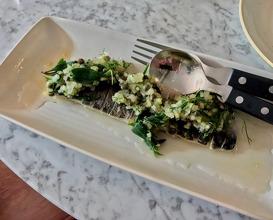 Meal at The Ninth