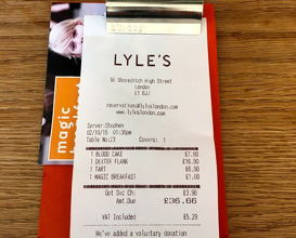Meal at Lyles