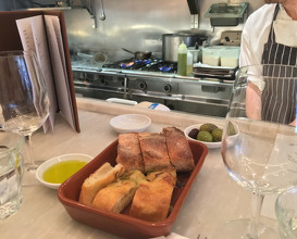 Meal at Bocca di Lupo