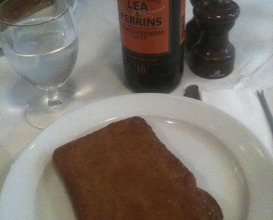 Meal at St John Bar & Restaurant