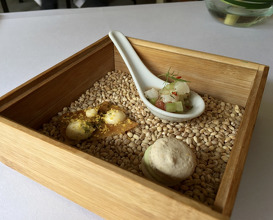 Meal at L'Ortolan