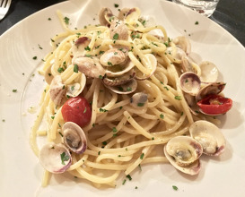 Meal at Alle Testiere