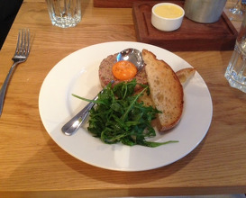 Meal at Tom's Kitchen