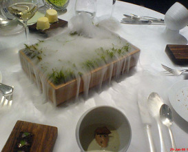 Meal at The Fat Duck