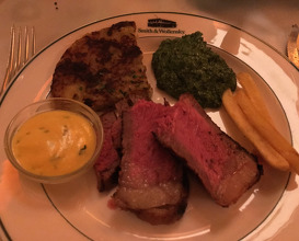 Meal at Smith & Wollensky