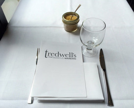 Meal at Tredwell's