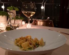 Meal at La Pergola