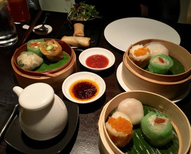 Meal at Hakkasan