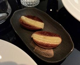 Meal at L'Etranger Restaurant