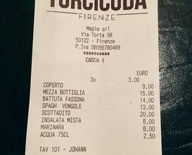 Meal at Cucina Torcicoda