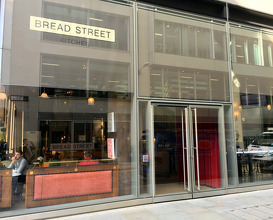 Meal at Bread Street Kitchen
