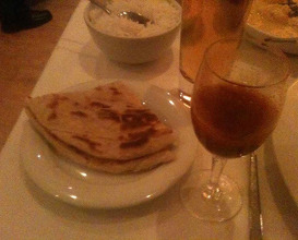 Meal at Quilon