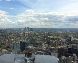 Meal at Duck and Waffle