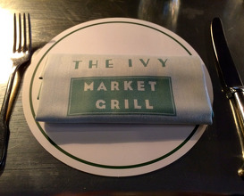 Meal at The Ivy Market Grill