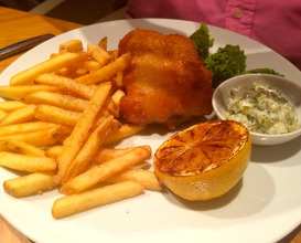 Meal at The Brasserie