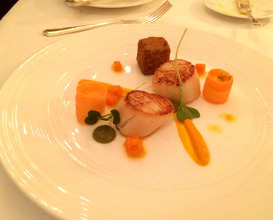 Meal at The Park at Lucknam Park Hotel