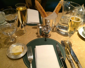 Meal at The Delaunay