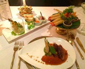 Meal at Blue Elephant