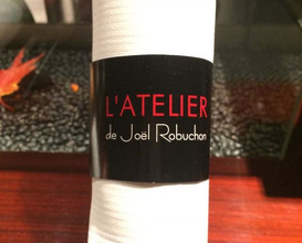 Meal at L'Atelier de Joël Robuchon