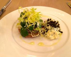 Meal at Berners Tavern