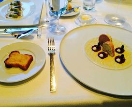 Meal at Aqua