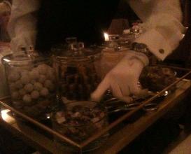Meal at Hélène Darroze at the Connaught