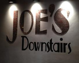 Meal at Joe's Downstairs