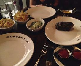 Meal at Goodman