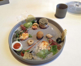Meal at La Vie
