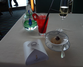Meal at Skyview Bar at Burj Al Arab