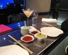 Meal at Yauatcha