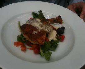 Meal at Petersham Nursaries