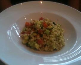 Meal at Zafferano