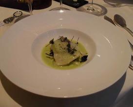 Meal at Le Manoir aux Quat'Saisons