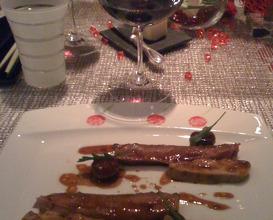 Meal at Joël Robuchon