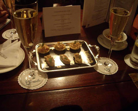 Meal at Le Gavroche