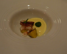 Meal at Number One at The Balmoral Hotel