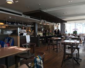 Meal at Darwin Brasserie